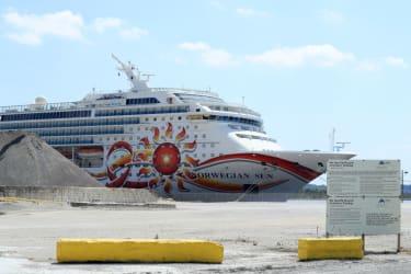 Norwegian Cruise Line ship.