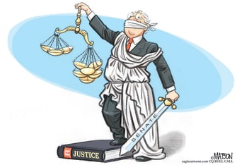 Political Cartoon U.S. McConnell SCOTUS