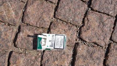 A pack of menthols.