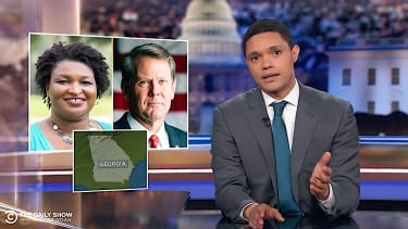 The Daily Show breaks down the Georgia governors race