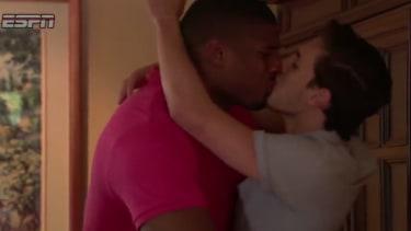 ESPN on Michael Sam's kiss: We weren't making a 'political statement'