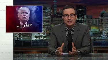 John Oliver takes on Donald Trump