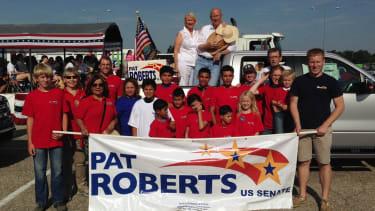 Poll: Republican Sen. Pat Roberts trails by wide margin — in deep red Kansas