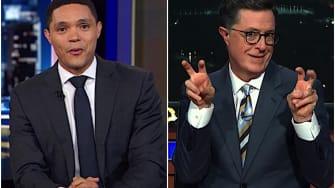 Trevor Noah and Stephen Colbert mock Jared Kushner