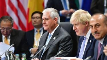 Rex Tillerson at the G20 Summit.