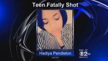 Chicago high school sophomore Hadiya Pendleton