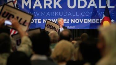 Democrats surging late in Colorado races for Senate, governor