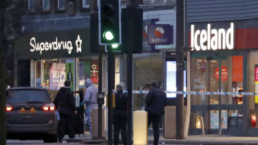 The site of the London stabbings on Sunday.