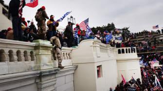 Trump mob storms Capitol.