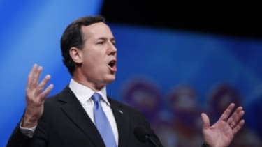 Rick Santorum is set to have a good weekend as Louisiana Republicans take to the polls Saturday during the state's primary.