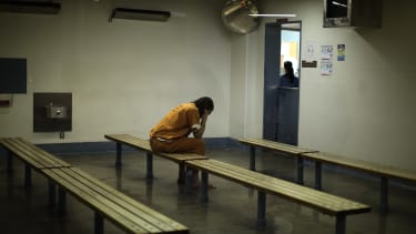 A distressed inmate.