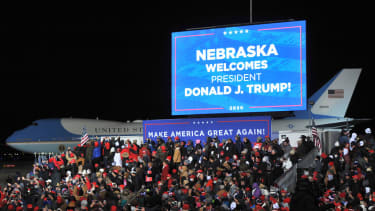 Trump visits Omaha