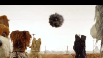 Isle of Dogs movie trailer.