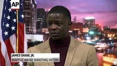 James Shaw Jr. tackled a gunman at a Waffle House