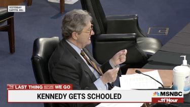 Sen. John Kennedy gets schooled