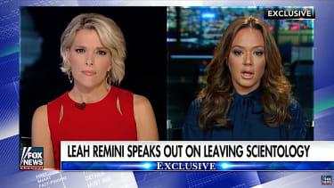 Leah Remini talks leaving Scientology with Megyn Kelly