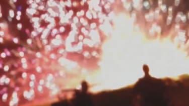 Simi Valley fireworks mishap