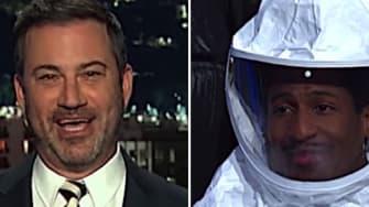 Jimmy Kimmel and Stephen Colbert on the coronavirus