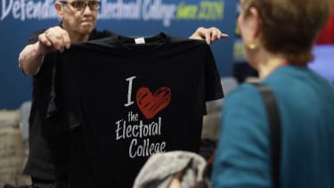 Conservatives love the Electoral College, for now