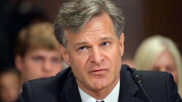 FBI Director Chris Wray.
