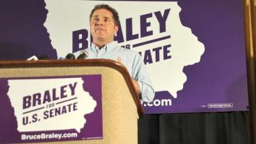 Democrat Bruce Braley pulls ahead by a hair in new Iowa Senate poll