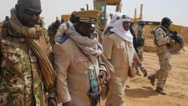 Mali military leaders.