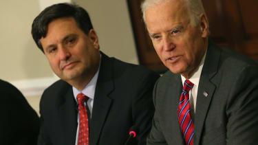 Klain and Biden.