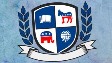 A college crest.