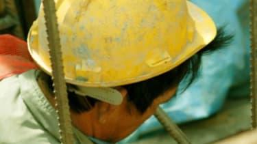 Sewage worker