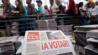 Voting in Venezuela