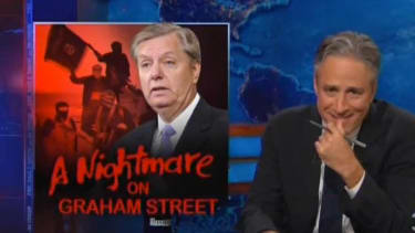 The Daily Show downplays ISIS's threat to America by mocking Lindsey Graham