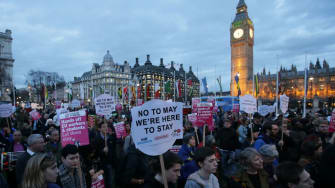 U.K. Parliament clears Brexit trigger