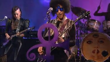Watch Prince's historic 'SNL' medley in all its delightfully trippy glory