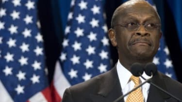 On Monday, Herman Cain told CNN's Wolf Blitzer that a Georgia woman was going to accuse him of a 13-year affair. An hour later, Ginger White shared her story with the world.