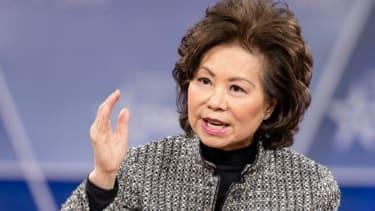 Transportation Secretary Elaine Chao.