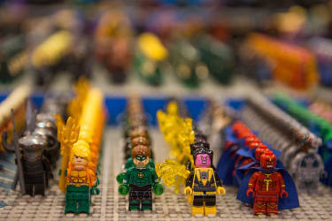 Legos are more dangerous.