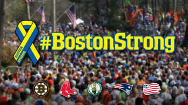 Here's how Boston's sports teams commemorated the marathon bombing