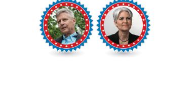 Gary Johnson and Jill Stein.