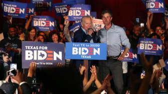 Joe Biden and Beto O'Rourke.