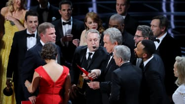 The Oscars fiasco.