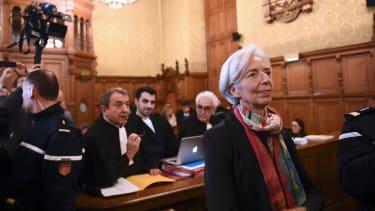 IMF chief Christine Lagarde in court