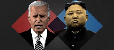 President Biden and Kim Jong Un.