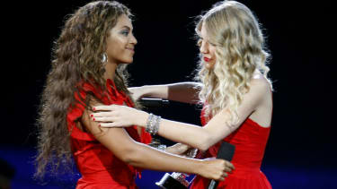 Beyonce and Taylor Swift.