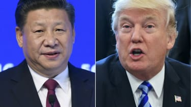 Chinese President Xi JinpIng and President Trump