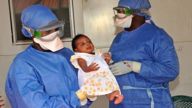 Noubia, the last known Ebola patient in Guinea