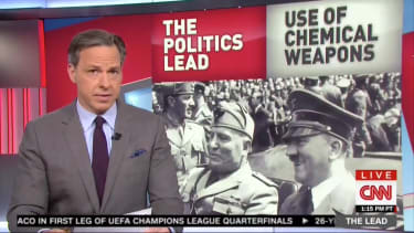 Jake Tapper's reaction to Sean Spicer's press conference.
