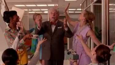 Robert Morse discusses the bizarre, joyous final scene from the Mad Men finale