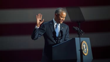 President Obama gives his farewell speech in Chicago