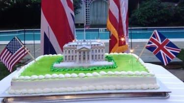 British Embassy tweets 200th anniversary of the burning of Washington in War of 1812