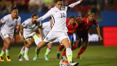 Womens soccer star demands pay equity.